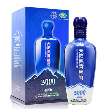 43度天佑德青稞酒海拔3000 500ml