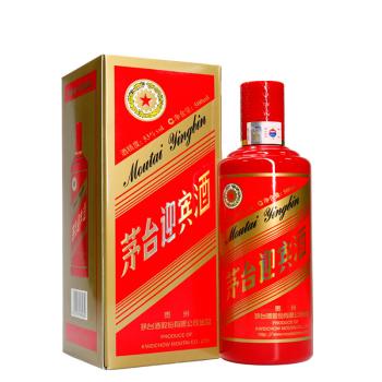 53°茅台迎宾中国红500ml