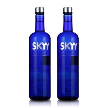 深蓝牌SKYY原味伏特加 750ml(2瓶装)