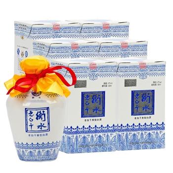 67°衡水老白干蓝花瓷 500ml(6瓶装)