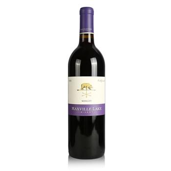 马克斯威酒庄阳光加州美乐干红葡萄酒