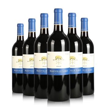 14.1°马克斯威酒庄阳光加州西拉干红葡萄酒750ml*6瓶装