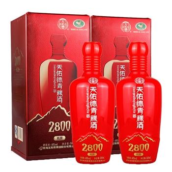 46°天佑德青稞酒2800 500ml(2瓶装)